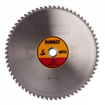 Dewalt DT1926 metallsagblad 355 mm x 25,4 mm x 66 tenner