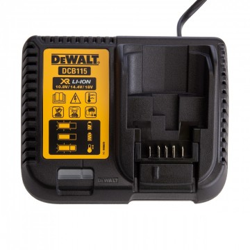 Dewalt DCB115 XR Multi-spennings hurtiglader 10.8-18V