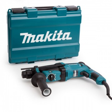 Makita HR2630 SDS + borhammer drill med 3-modus 26mm