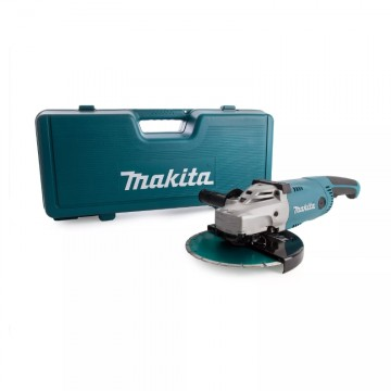 Makita GA9020KD 230mm vinkelsliper 240V inkludert diamant blad + transport koffert