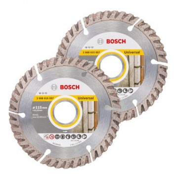 Bosch 06159975S9 twin pack 115mm diamant blad